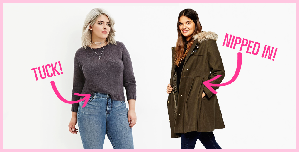 How Can Curvy Women Look Super Cool in Winter